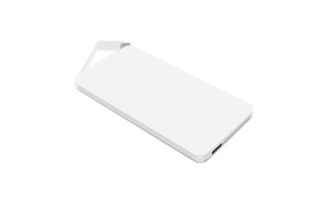 Външна батерия с LED светлина, Powerbank, 2500mah
