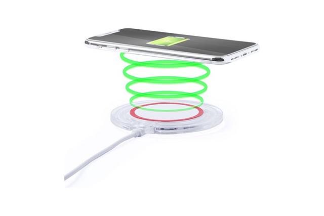 QI зарядно с неплъзгаща се основа и LED индикатор