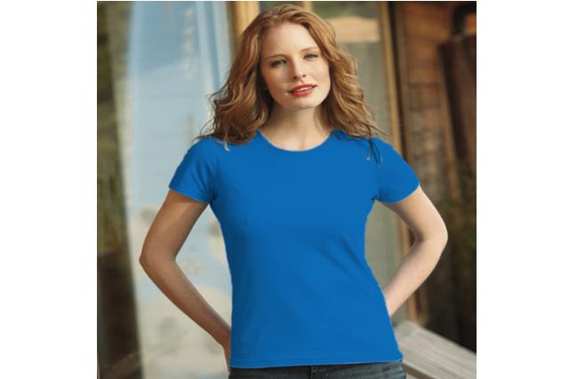 Рекламни дамска тениски KEYA - 100% памук
