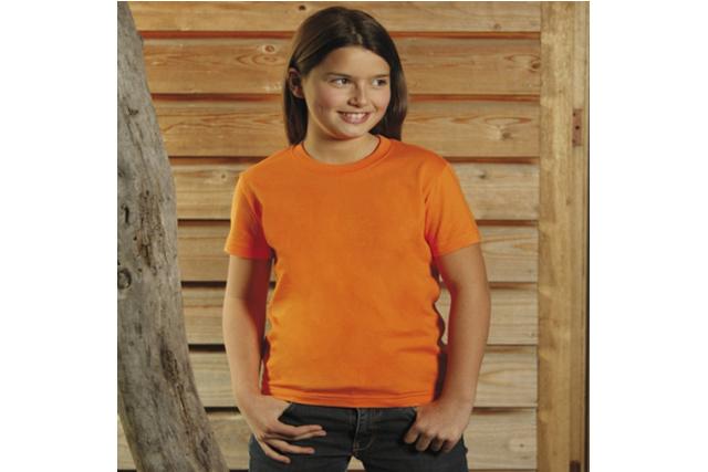 Рекламни детски тениски KEYA - 100% памук