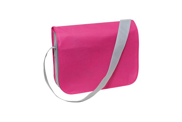 Чанта с дълга дръжка и велкро закопчавене
