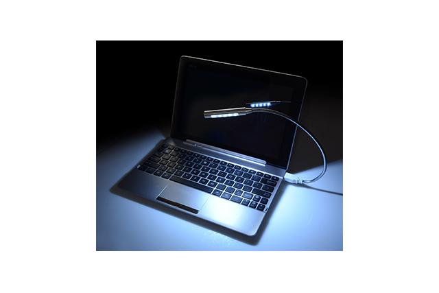 Метална лампа с USB захранване