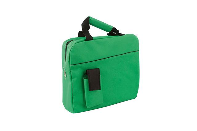 Чанта - куфарче с подсилена дръжка и джоб за мобилен телефон