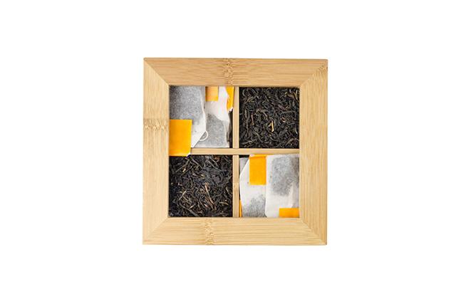 Кутия за чай от бамбук