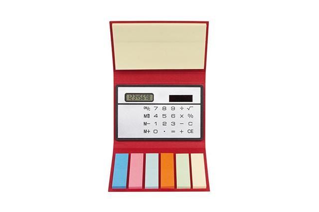 Комплект мемо листчета с калкулатор