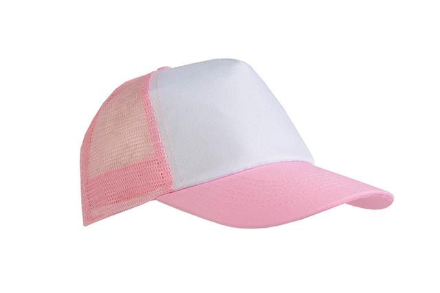 Пет панелна шапка с мрежа и велкро закопчаване