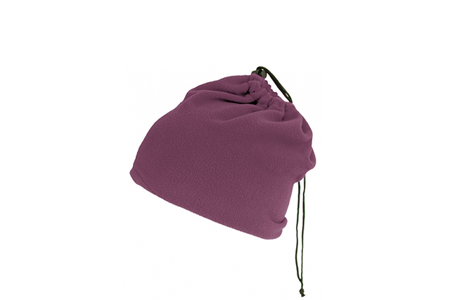 Поларена шапка-шал
