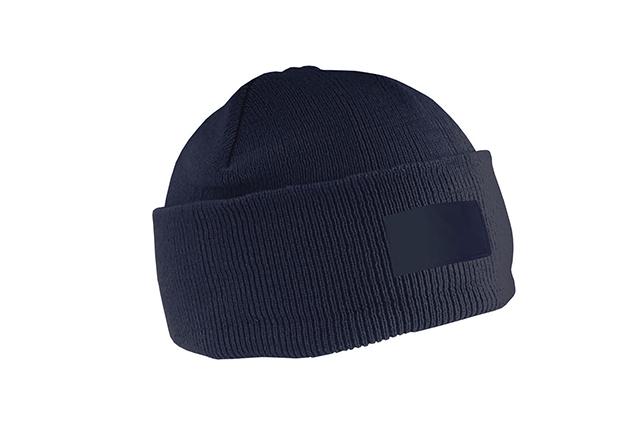 Рекламна зимна шапка