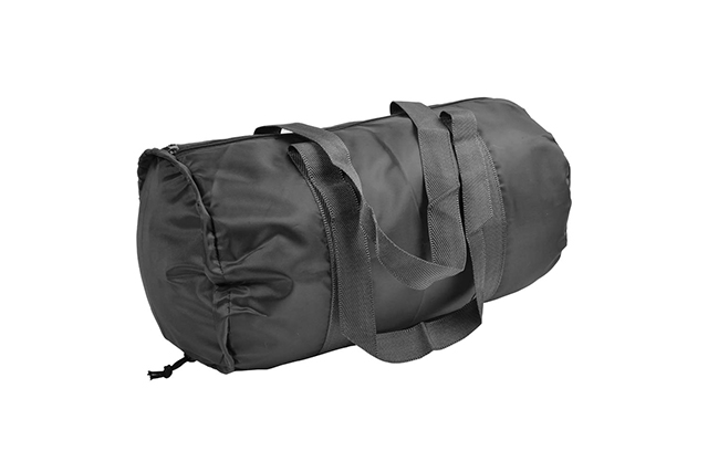 Практичен сгъваем сак с просторно отделение с цип